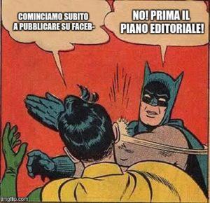 web marketing piano editoriale Padova