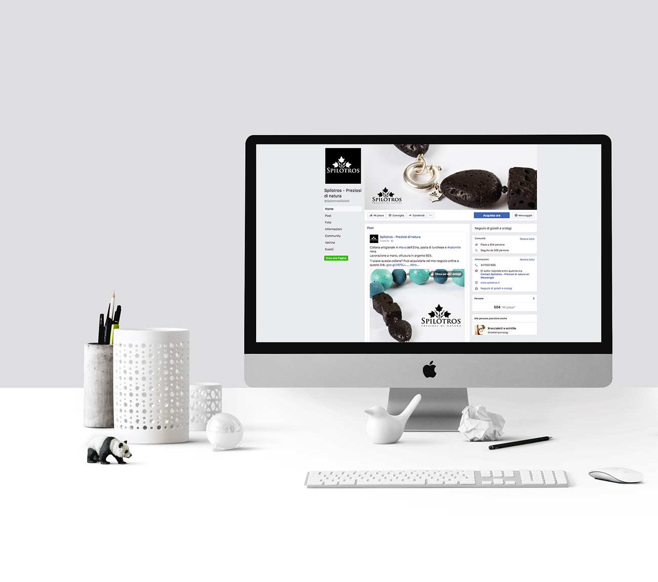 Web marketing per e-commerce gioielli Padova