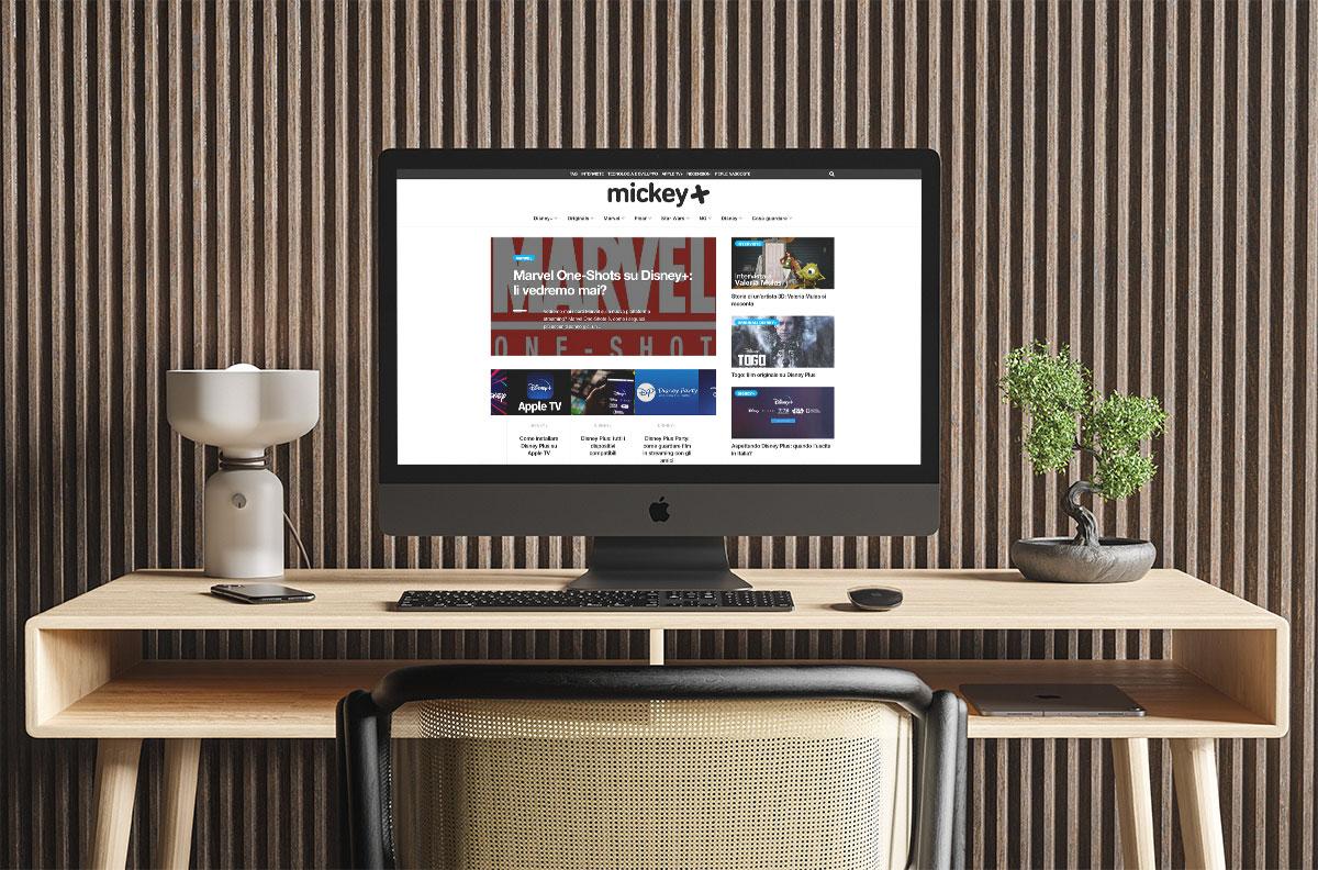 Web Content Manager per blog su cinema e serie tv