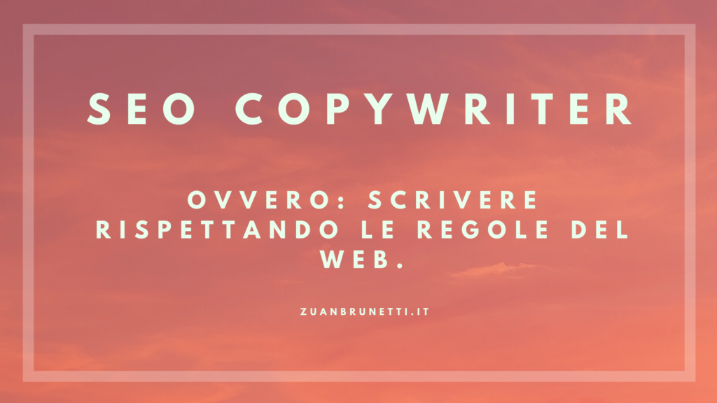 SEO copywriter Padova