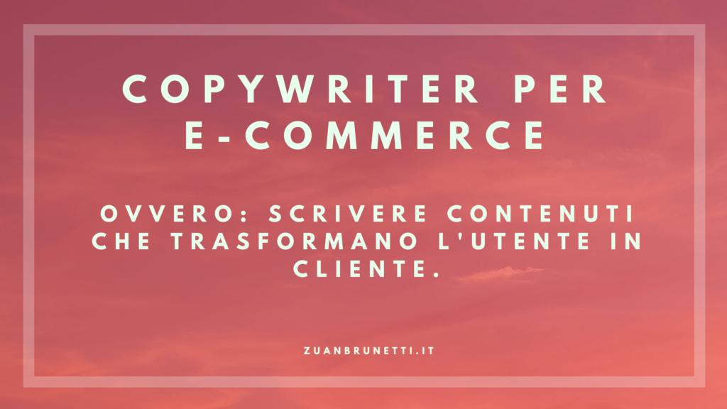 copywriter per e-commerce