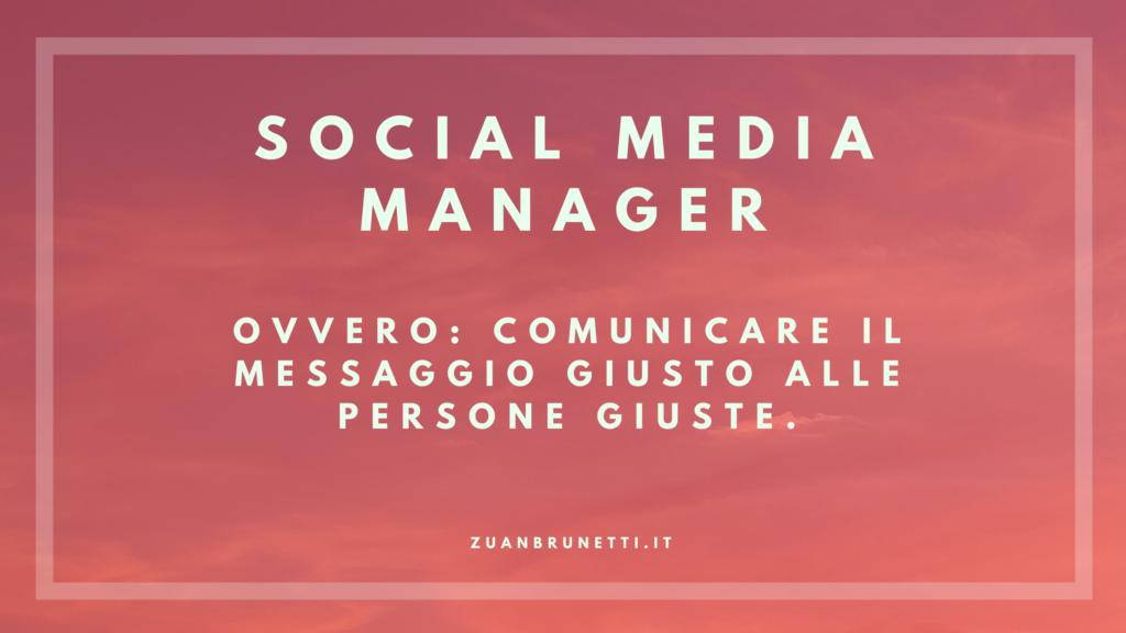 social media manager padova