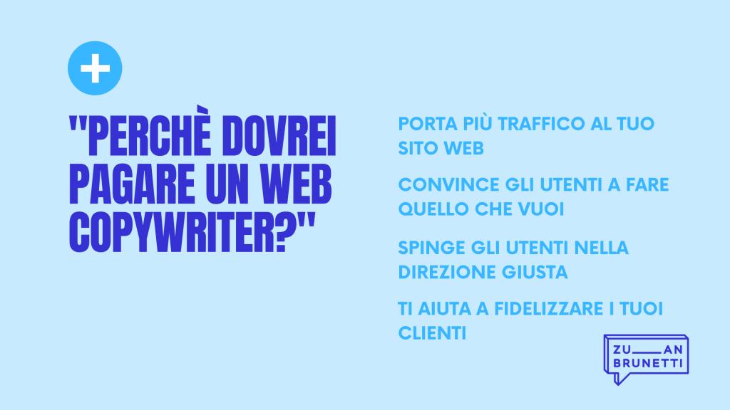 Perchè pagare un web copywriter